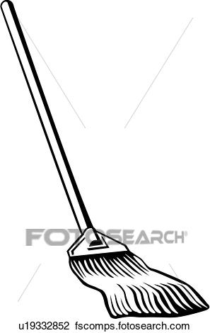 297x470 Clipart Of , Mop, Cleaning, Household, U19332852