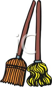 181x300 Image A Broom And A Mop