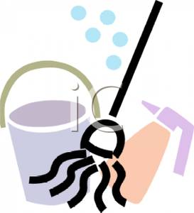 273x300 Art Image A Mop And Bucket With A Sprayer