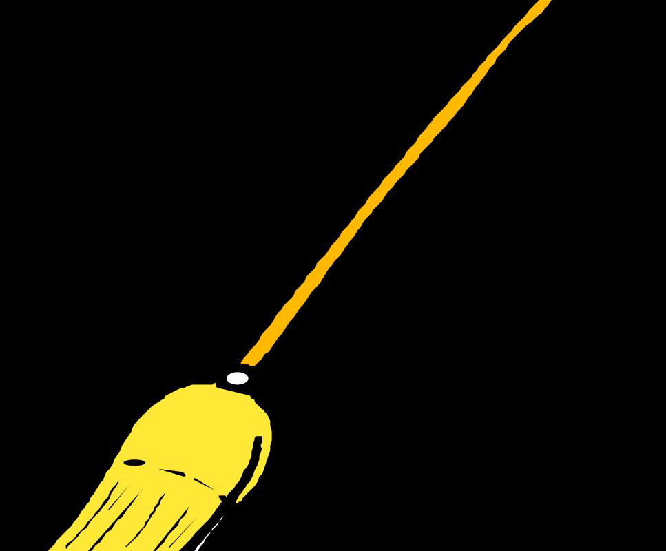 967x800 Broom Clipart