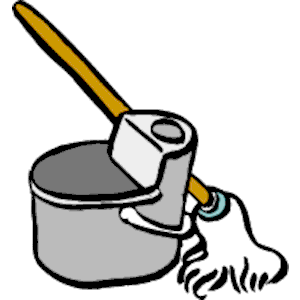 300x300 Wash Bucket And Mop Clipart Cliparthut