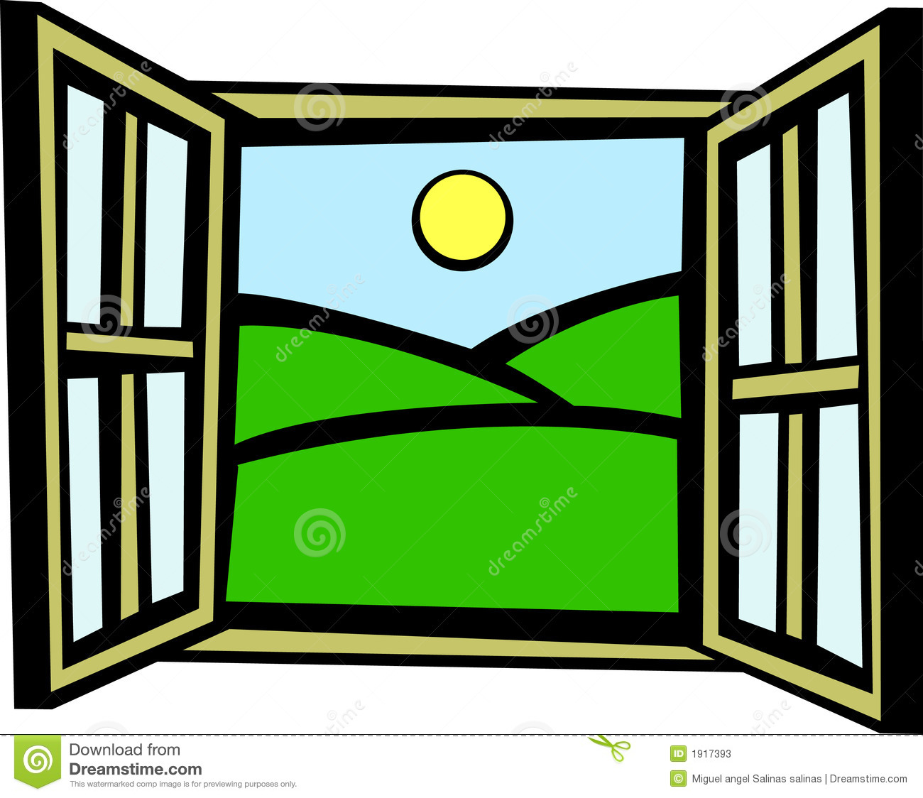 1300x1124 Morning At The Window Clipart