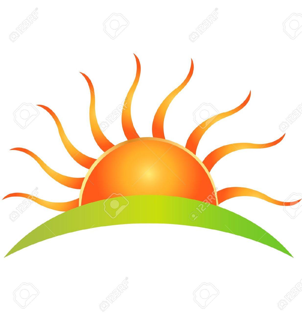 1234x1300 Morning Clipart Rising Sun