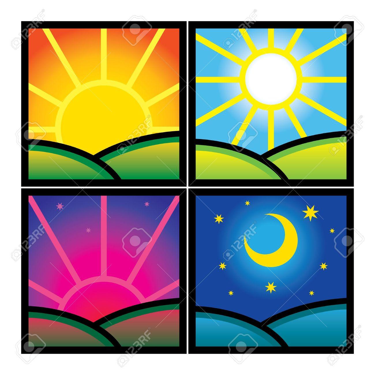 1300x1300 Sunrise Clipart Morning Time