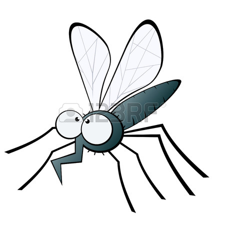 450x450 Funny Cartoon Mosquito Royalty Free Cliparts, Vectors, And Stock