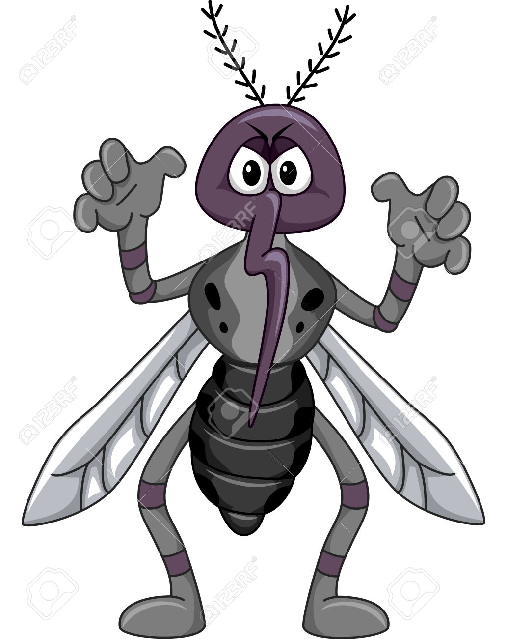 1033x1300 Mosquito Clipart Scared