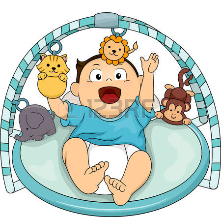 450x441 Royalty Free Baby Clipart