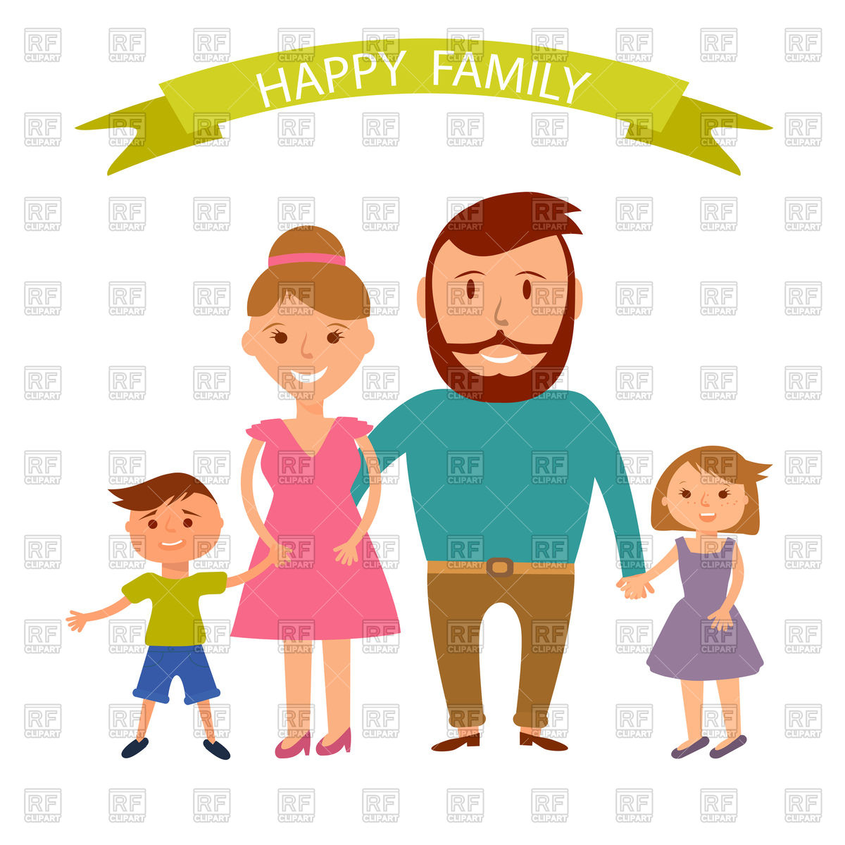 1200x1200 Happy Family