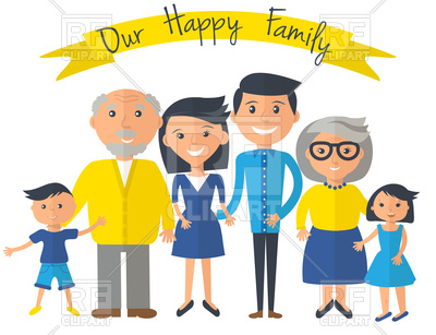 400x307 Happy Family Poster