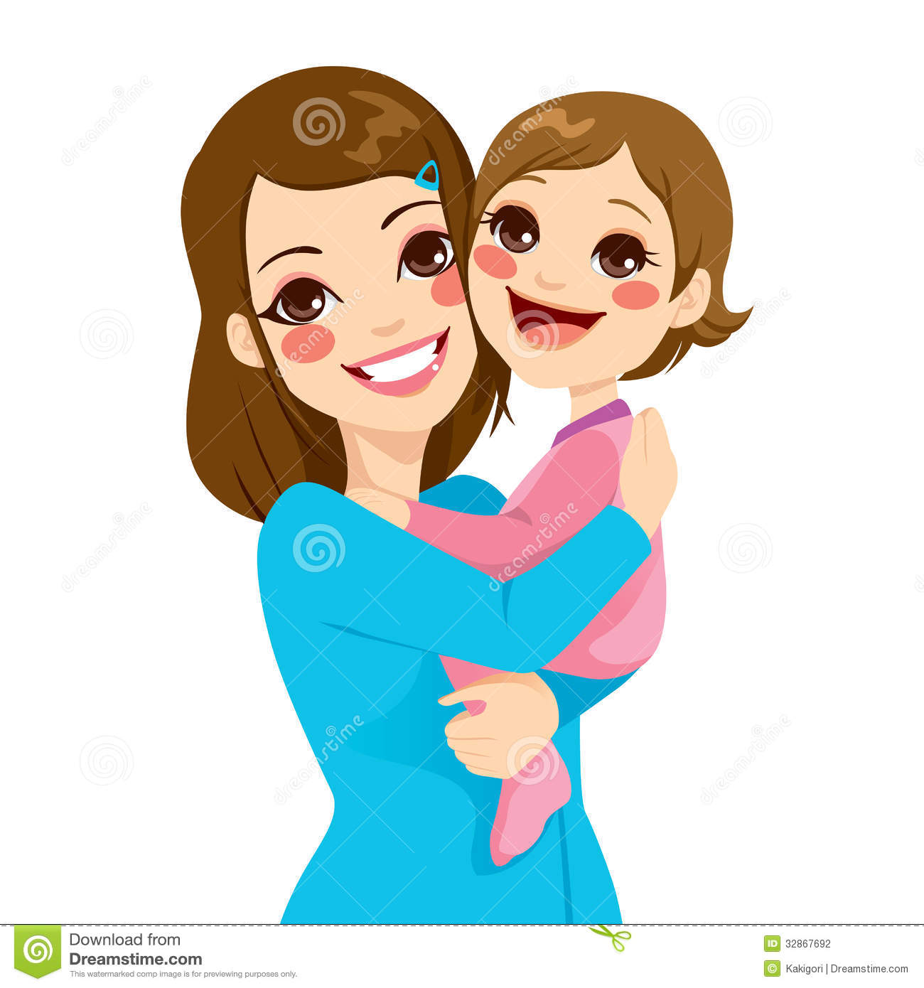 1300x1390 Mother Daughter Clipart