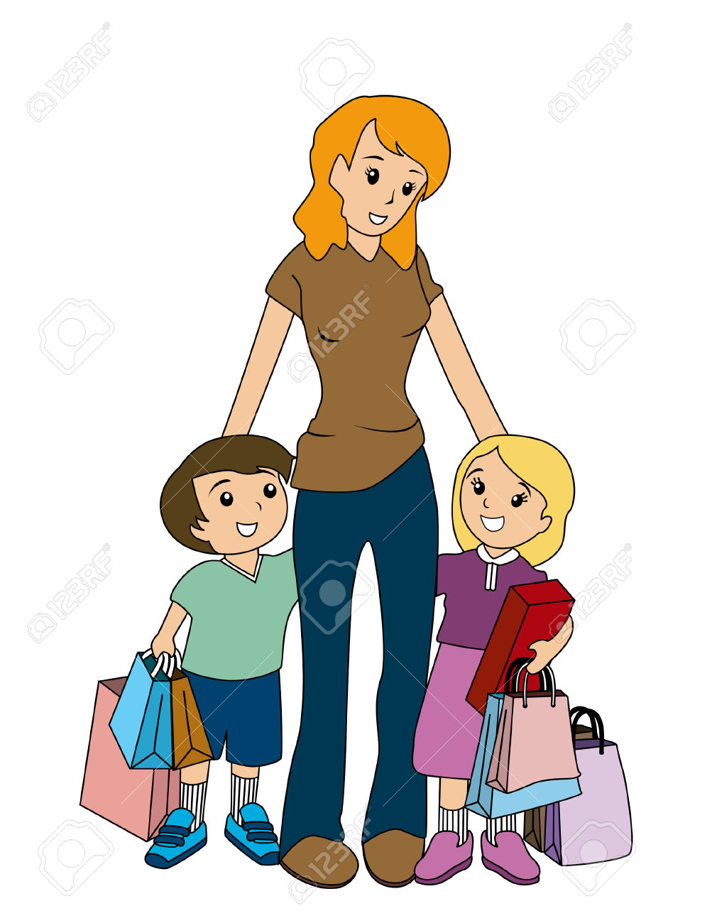 1003x1300 Clipart Mom With Kids