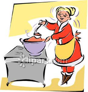 290x300 Kitchen Grandma Clipart, Explore Pictures