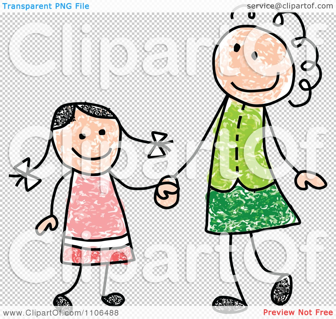 Mother Daughter Cliparts Free Download Best Mother Daughter
