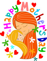 161x210 Mother's Day Clipart Mother And Child
