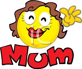 350x293 Mommy Clipart Mother Face