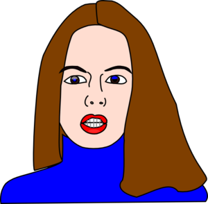 300x294 Mother Face Clipart