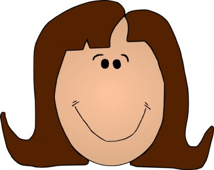 425x338 Smile Clipart Mother Face