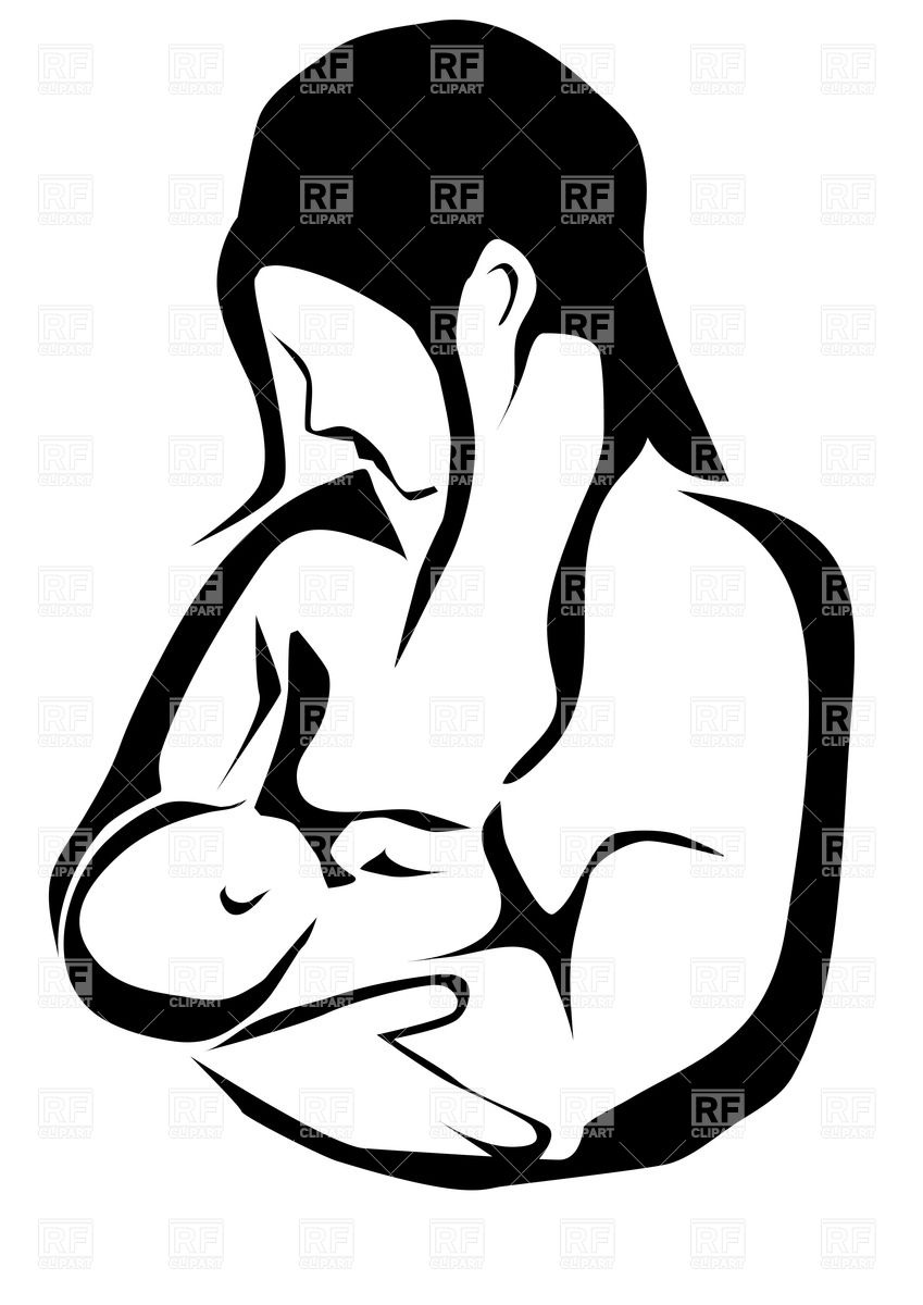 849x1200 Contour Of Mother And Baby