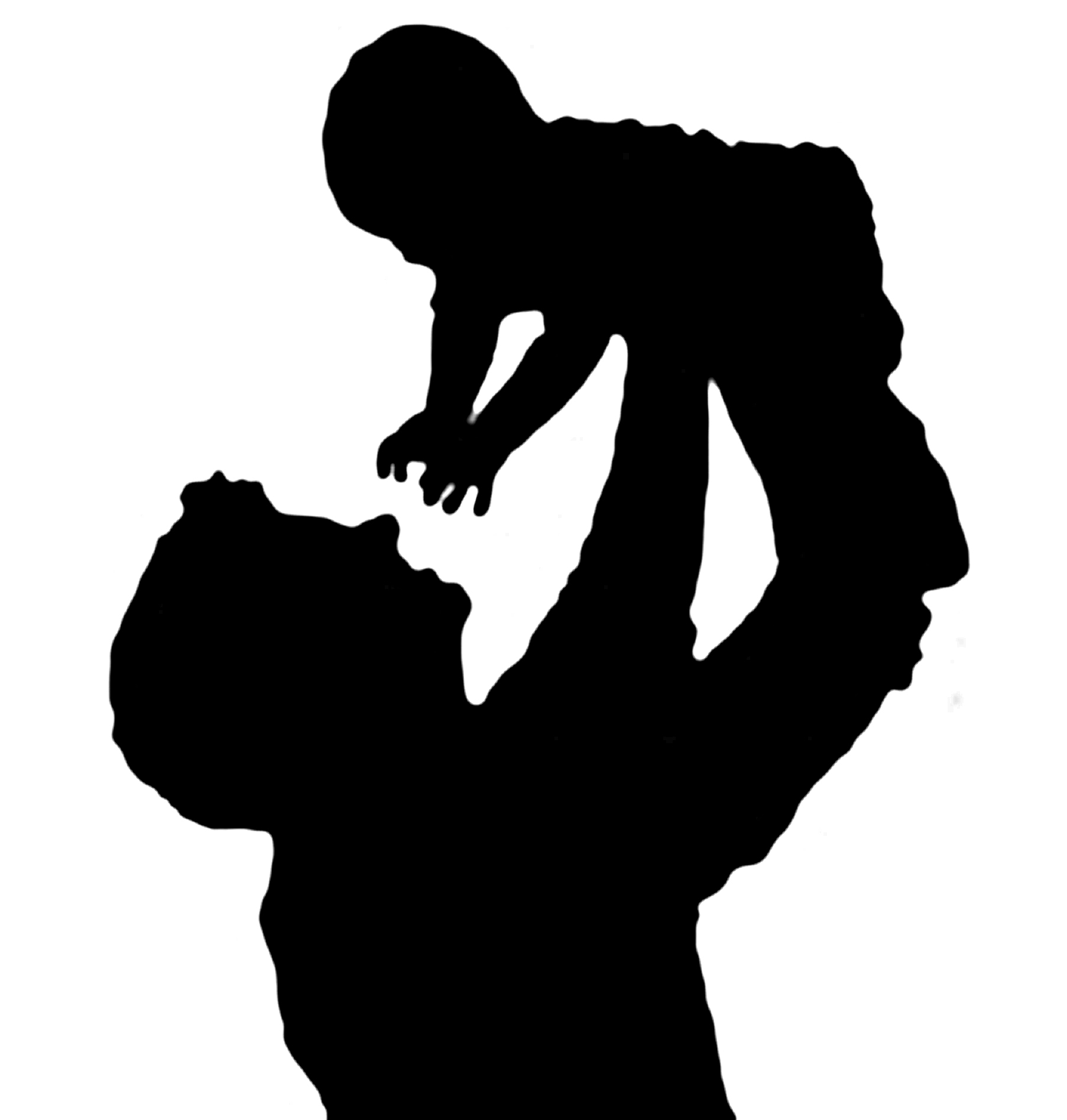 1805x1896 Mother Silhouette Clipart