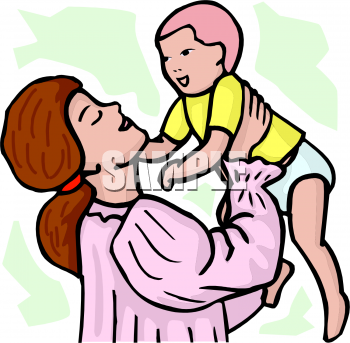 350x343 Royalty Free Baby Clip Art, People Clipart