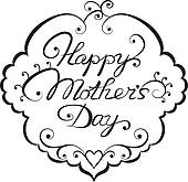 170x165 Mother's Day Clipart Black And White