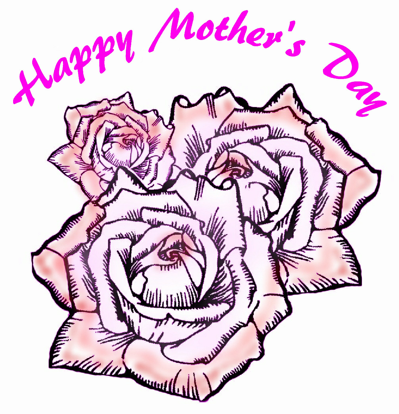 1338x1388 Mother's Day Clipart May