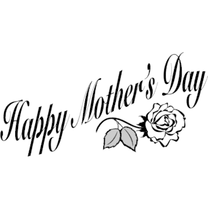 300x300 Free Mother Day Clipart Black And White Best Black Amp White Clip