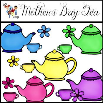 350x350 Tea Clipart Mother's Day Tea