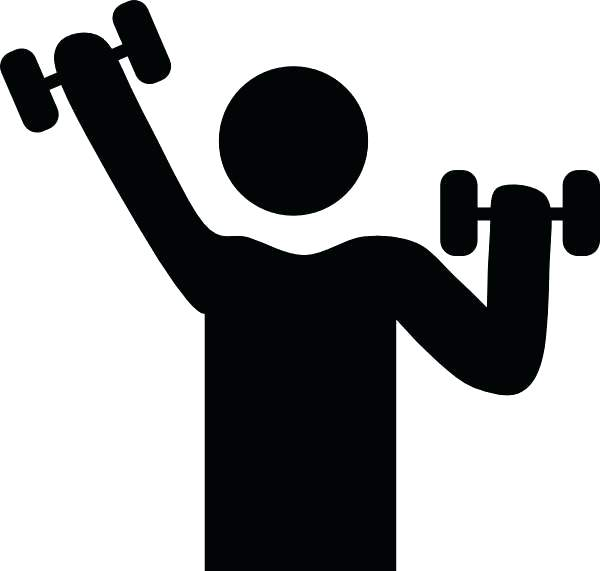 600x571 Exercise Clipart Motivational Weight Lifting Exercise Weight