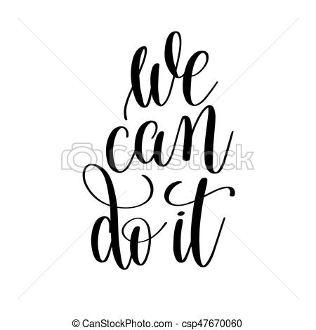 450x470 Motivational Clipart We Can