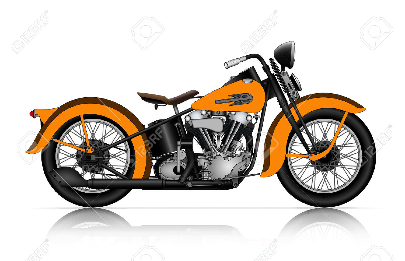1300x837 Chopper Clipart Classic Motorcycle