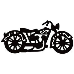 Motorcycle Clipart Black And White | Free download best ...