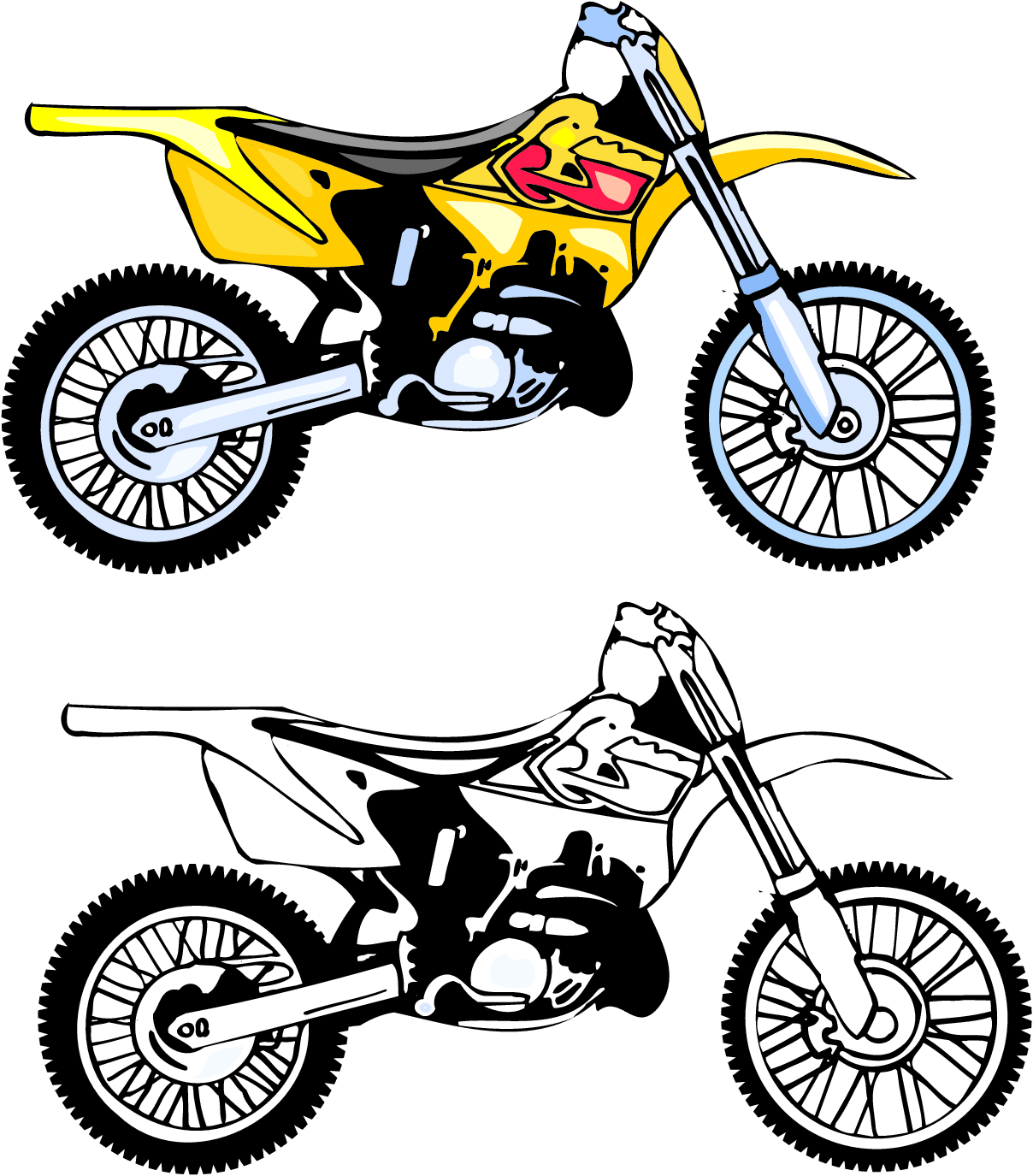 1208x1375 Motorcycle Clip Art Free Clipart