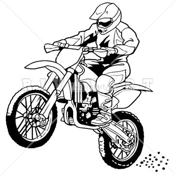 361x361 Motorcycle Clipart Dirt Bike