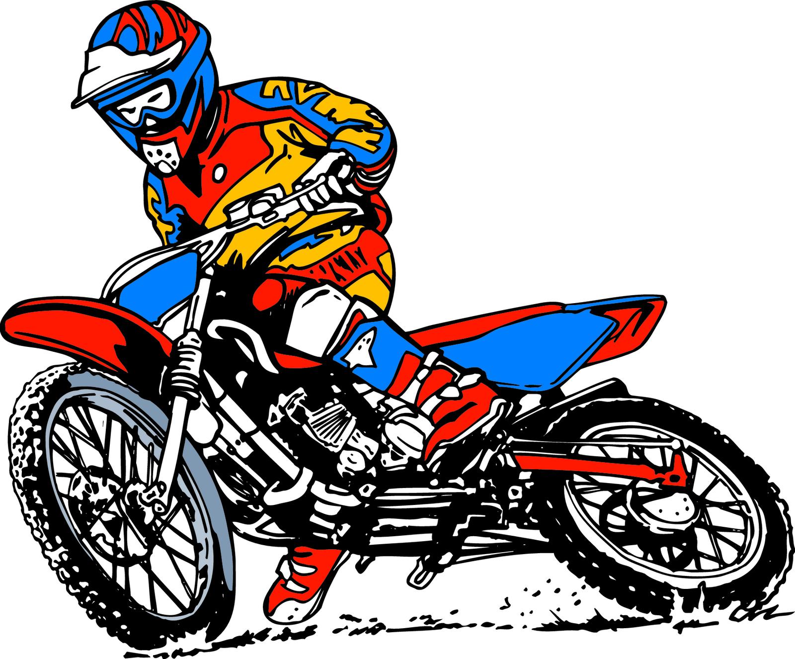 Motorbike Clipart