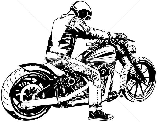 600x468 Harley Davidson Stock Vectors, Illustrations And Cliparts Stockfresh