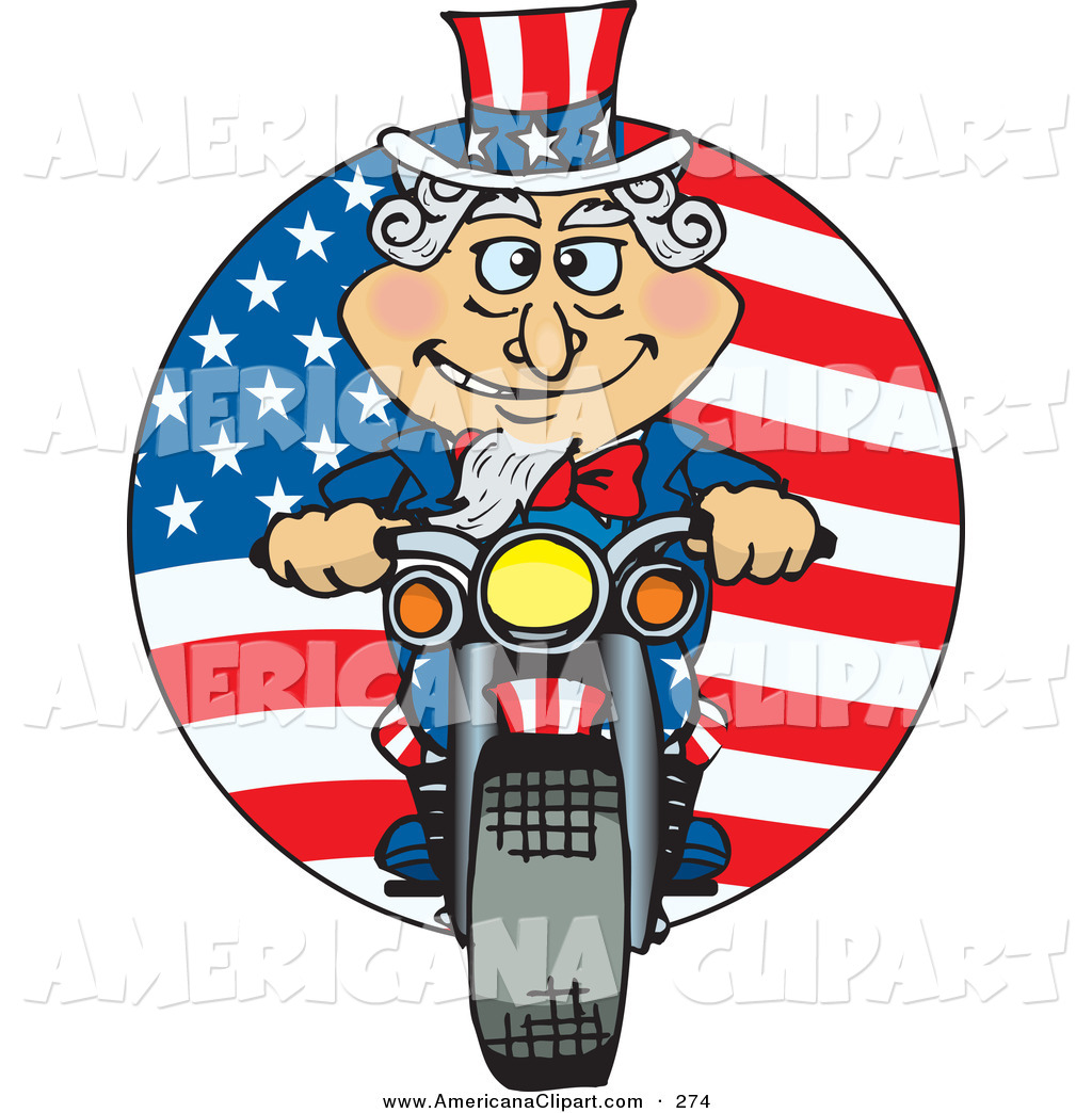 1024x1044mericana Vector Cartoon Cliprt Of Cheerful Uncle Sam Riding