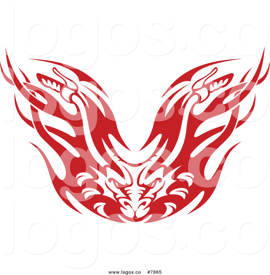 1024x1044 Royalty Free Clip Art Vector Red And White Flaming Demon