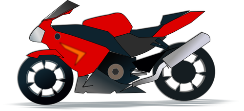 Motorcycle Riding Clipart