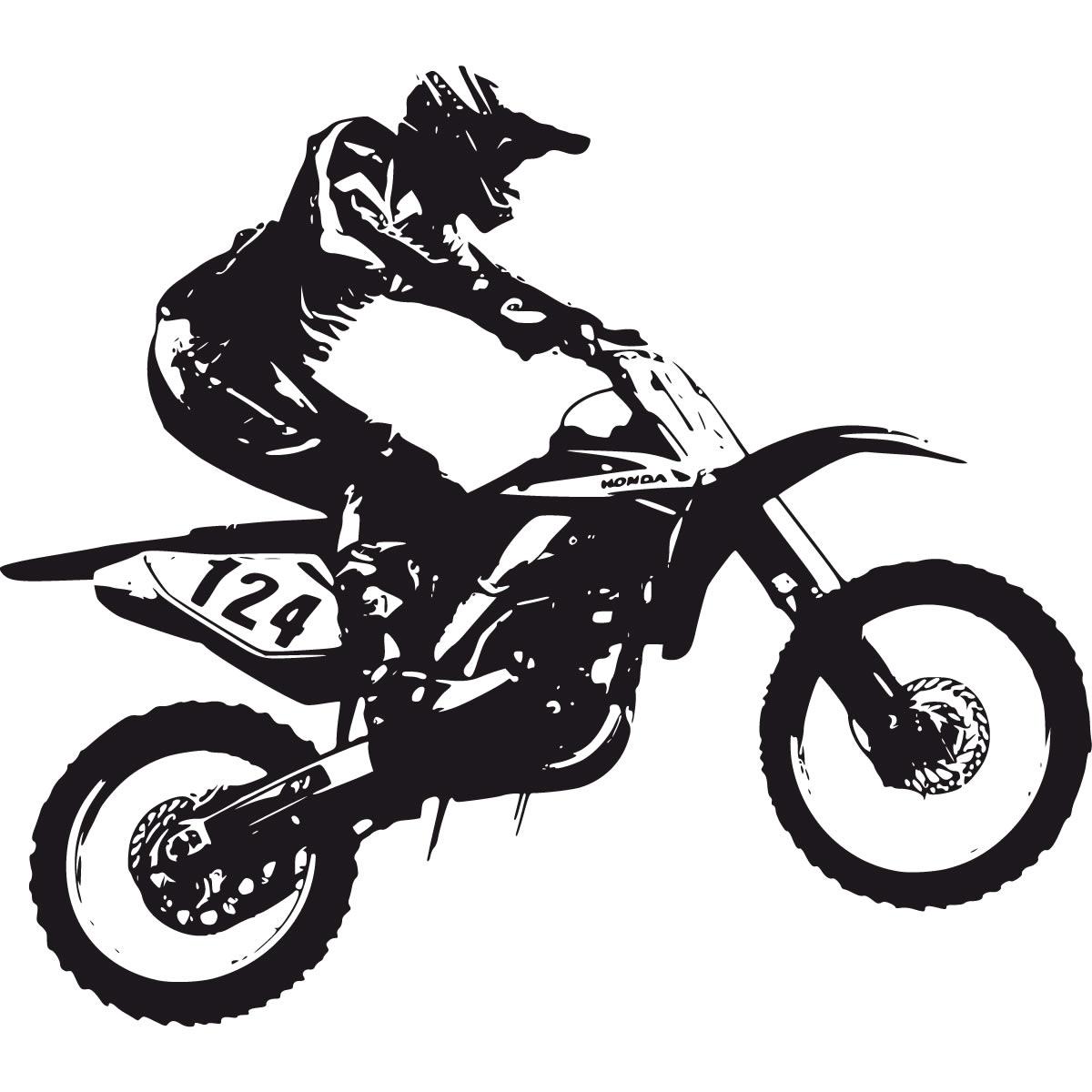 1200x1200 Dirt Bike Silhouette Clipart