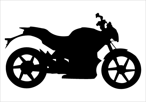 Motorcycle Silhouette Clipart Free Download Best Motorcycle