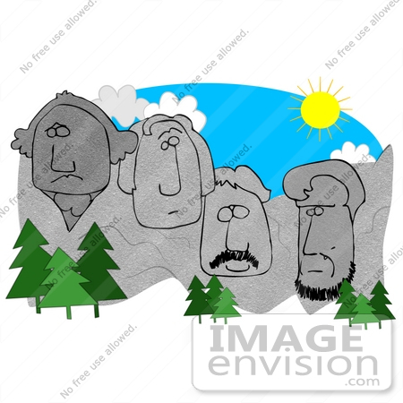 450x450 Mount Rushmore In South Dakota With The Faces Of George Washington