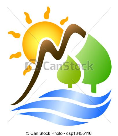 408x470 Mountain Ridge clipart sun clipart