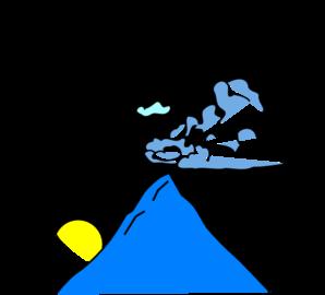 298x270 Mountain Sun Logo Clip Art