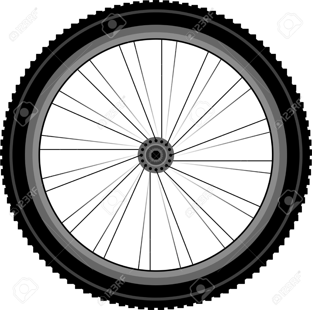 1300x1290 Mountain bike tyres clipart