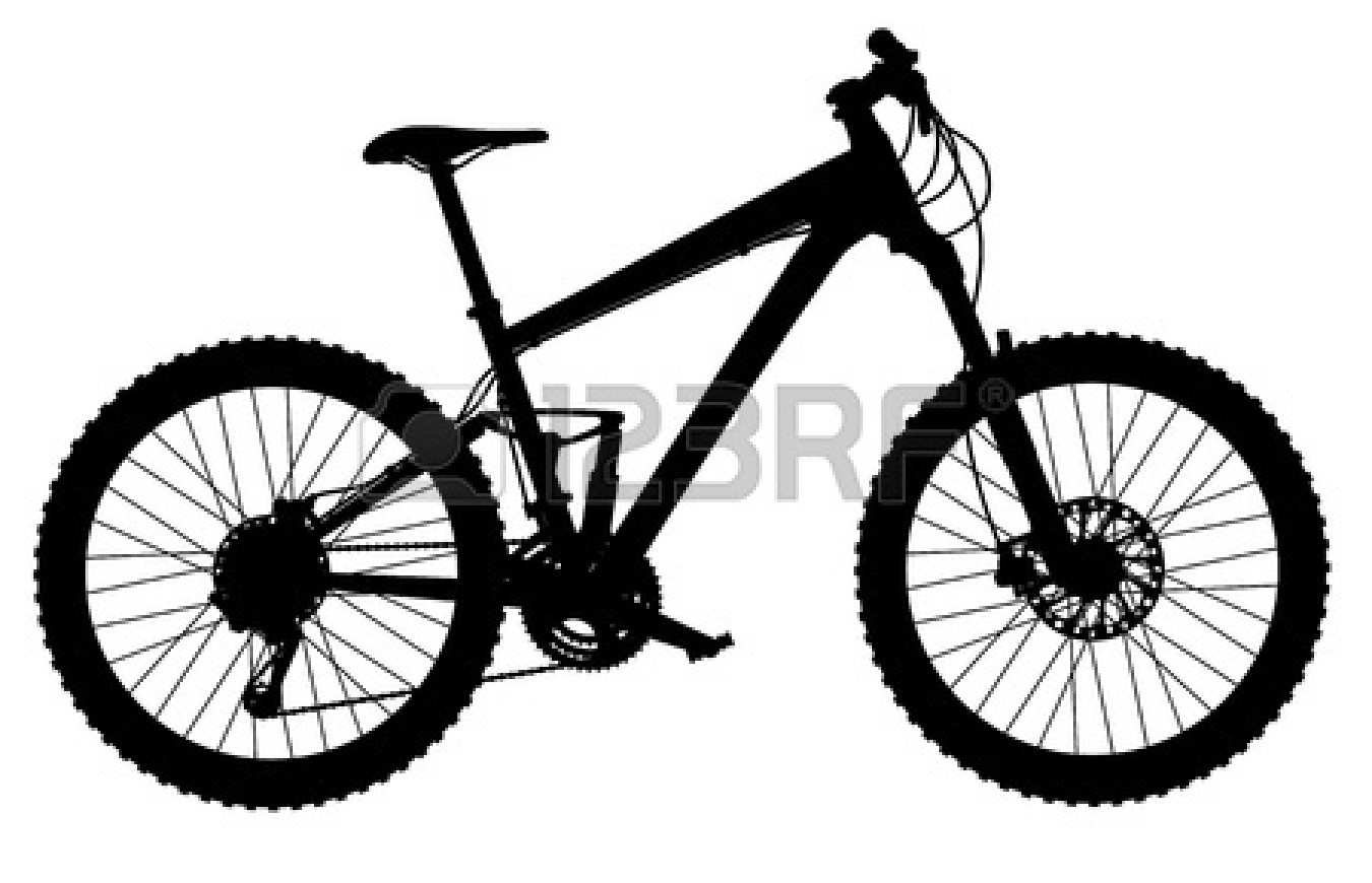 1350x870 Bicycle clipart mountain biker