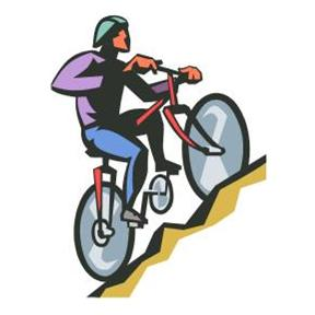 288x288 Mountain biking clipart