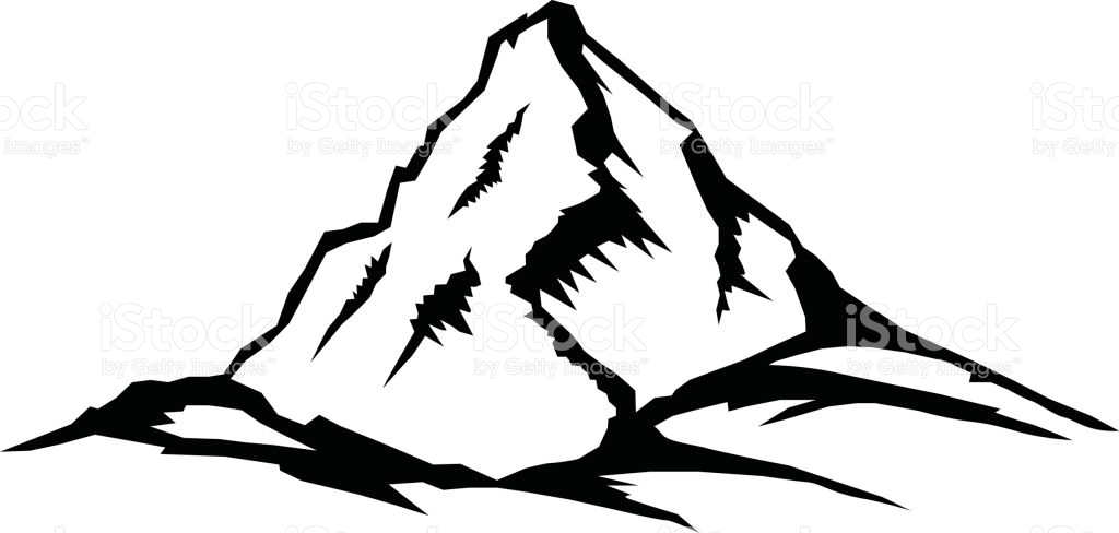 1024x488 Mountain clipart everest