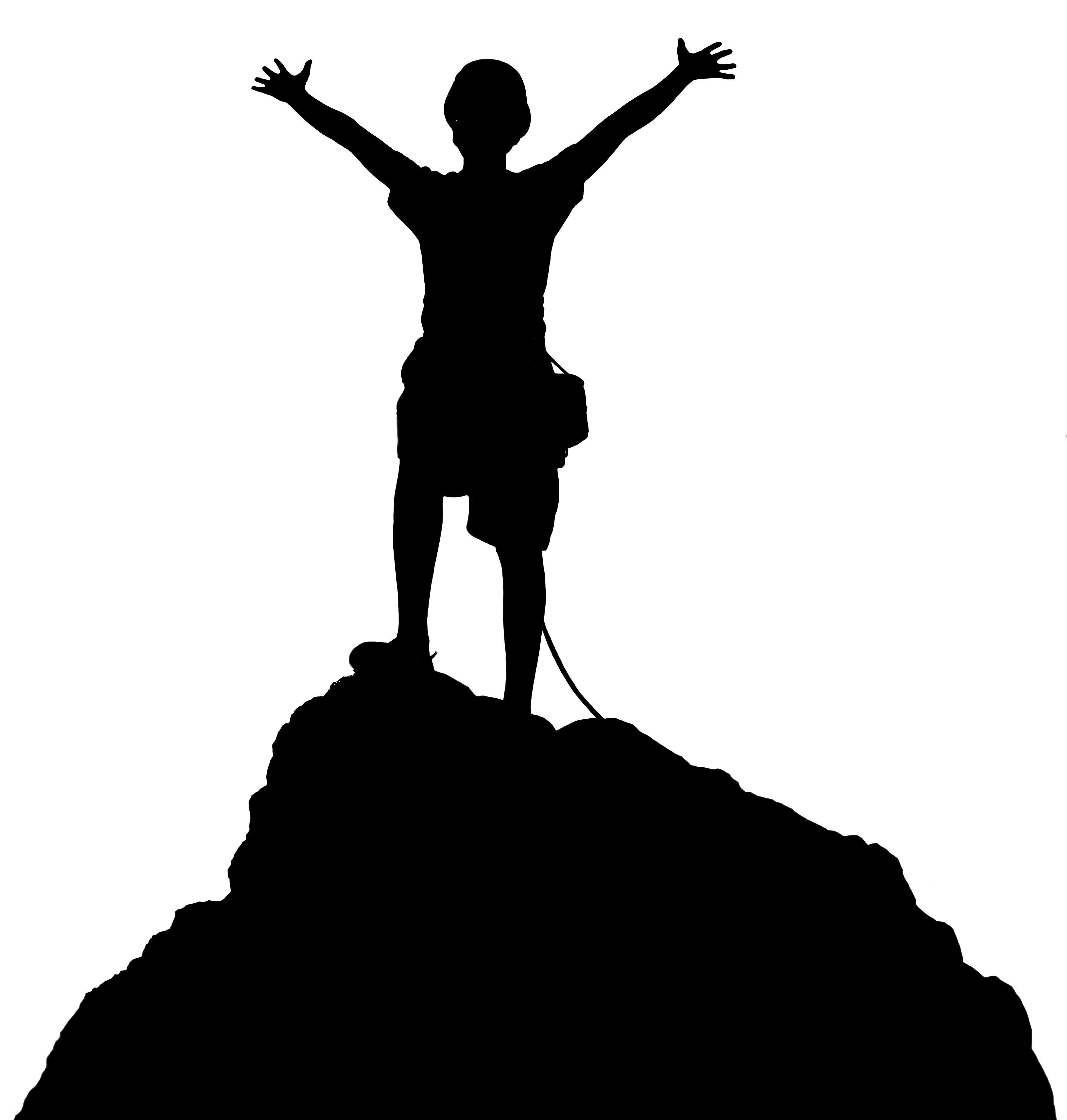 3264x3427 Best Hd Climbing Clip Art Boy Black Library