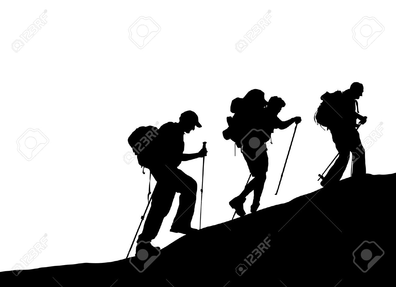 1300x941 Climbing clipart mountain silhouette